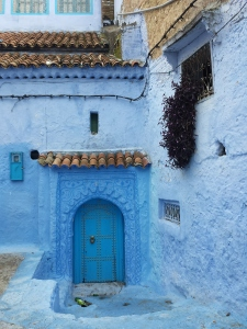 Door in Chefchaouen